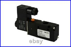 10x 24V DC Solenoid Air Pneumatic Control Valve 3 Port 3 Way 2 Position 1/4 NPT