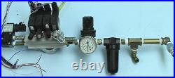 5 Pneumatic Air Solenoid Valve Assembly with regulator