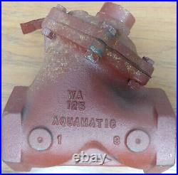 Aquamatic 2 Normally Open Valve Spring Assist Closed WA 125