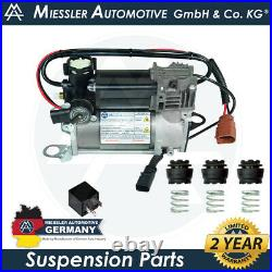 Audi RS6 (C6/4F) 2008-11 Air Suspension Compressor with Brackets & Relay 4F0616005