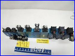 Batch Of 12 Solenoid Connector Valve Machine Shop Air Pneumatic Free Shipping