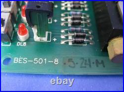 Bay Pneumatic Inc BES-501-8 PCB with Humphrey HA010E1 Solenoid Valves, Used