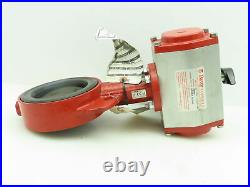 Bray 92-0830-11300-532 Pneumatic Dbl Acting Actuator Solenoid 4Butterfly Valve
