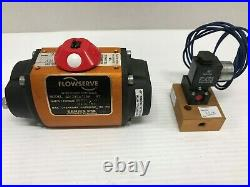 FLOWSERVE 10F39W120A R7 Pneumatic Actuator Series F39 with Solenoid