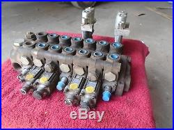 Gresen Hydraulic/Solenoid/Pneumatic Control Valve Assembly