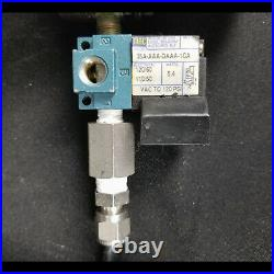 MDS AV-150-P 311029 UHV Conflat Pneumatic Angle Valve withMAC Solenoid Valve