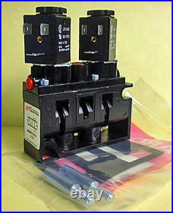 NEW ARO Ingersoll Rand A222SD-(Any Voltage) Double Solenoid Pneumatic Valve
