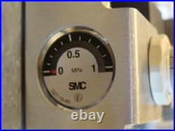 NEW Thermo Pneumatic Control Valve Solenoid and Pressure Gauge SEE DESCRIPTION