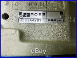 New No Box Ross Pneumatic Double Valve 3573a4201 With 421b04 Coil