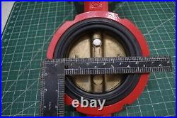 Pneumatic Air Actuated 4 Butterfly Valve Single Acting Spring Return withsolenoid