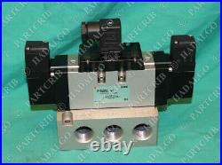 SMC, VFS5310-5D, Pneumatic Solenoid Valve with Manifold NEW